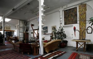 Ilan Averbuch's artist's loft in Queens from Apartmenttherapy.com